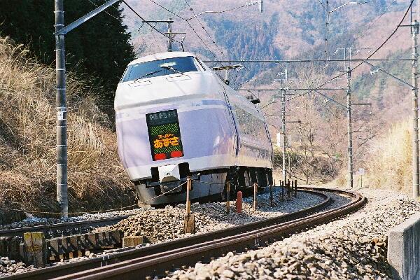 JR線(中央本線) 中央本線 中央線 24 番線 JR線(中央本線) 中央本線は、東京−新宿−塩